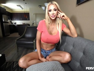 casting big tits blonde