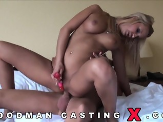 casting anal blonde
