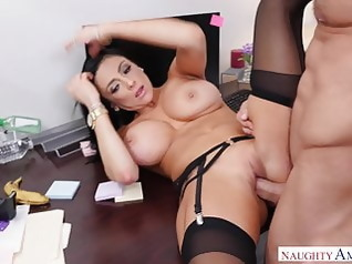 stockings brunette hardcore