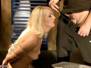 fetish bdsm blonde